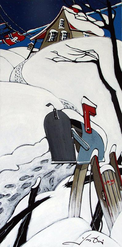 Yves Doré - Toile - 147