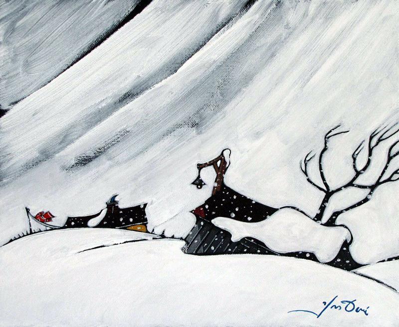 Yves Doré - Toile - 154