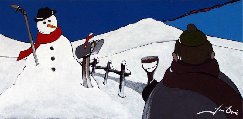 Yves Doré - Toile - 221