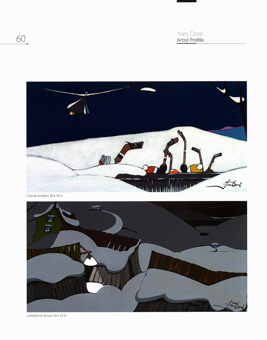 Magazin'art 2018 - Vol 30 - No 118 - p. 60 - Yves Doré