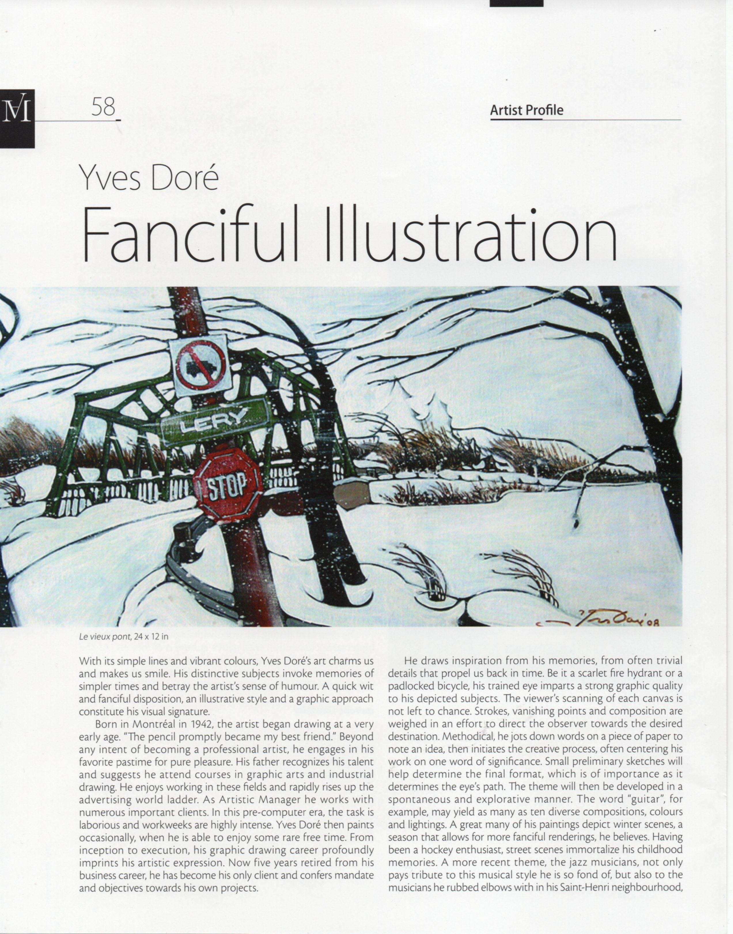 Magazin'art Vol 30 - Couverture