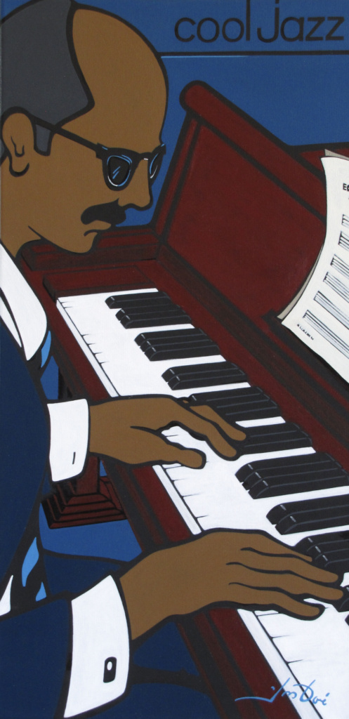#422 CoolJazz-Piano 12x24