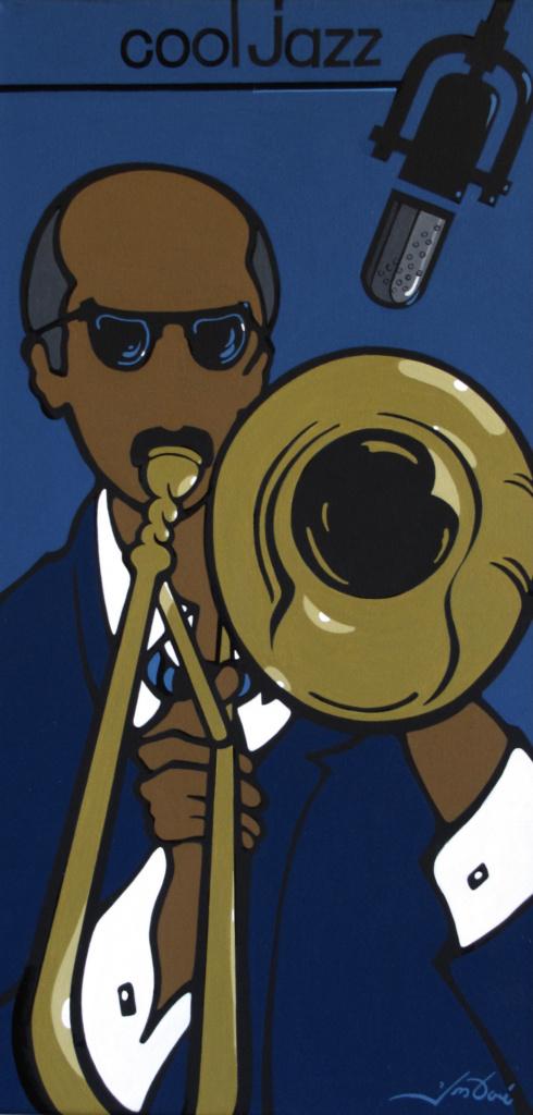 #423 Cool Jazz- Trombone