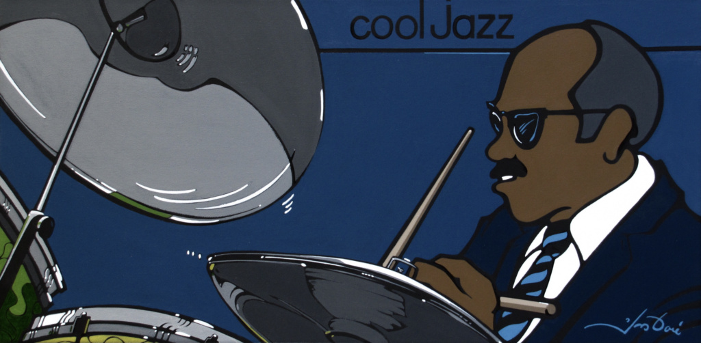 #425 Cool Jazz-Batterie